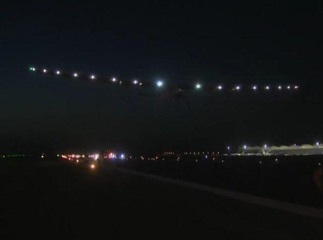 Solar Impulse in Seville
