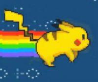 Pikachu in space
