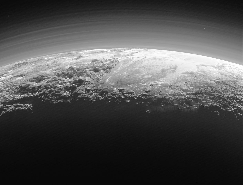 Pluto's atmosphere