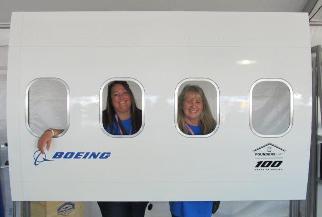 Boeing display at Museum of Flight