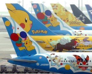 Pokemon jets