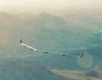 Facebook Aquila drone over Arizona