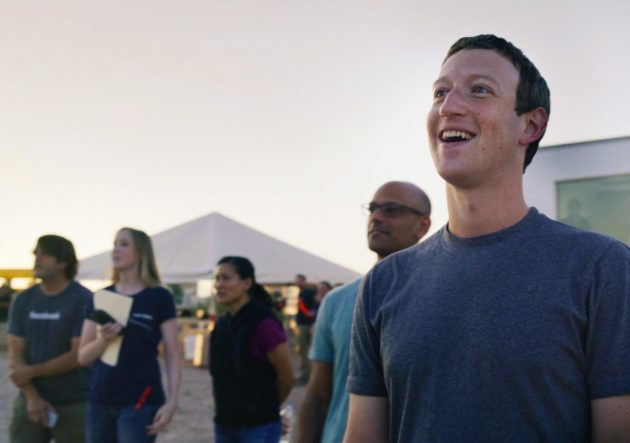 Zuckerberg and Facebook Aquila flight