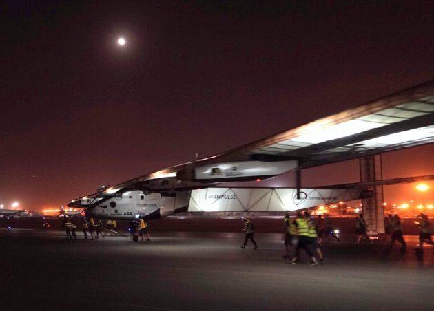 Solar Impulse in Cairo