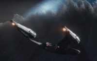 "Starship Enterprise in ""Star Trek Beyond"""