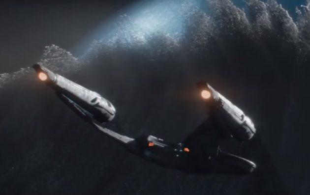 """Starship Enterprise in """"Star Trek Beyond"""""""