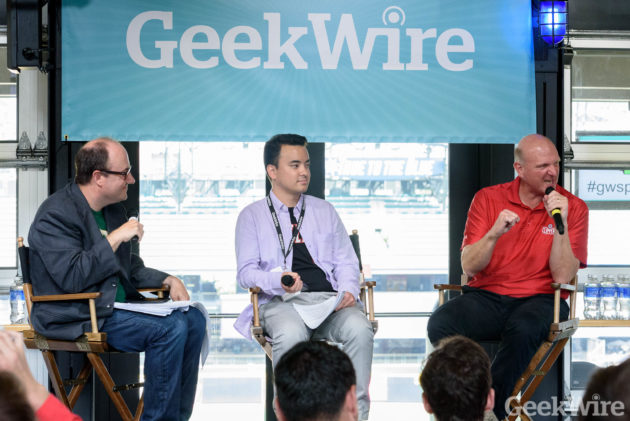 Steve Ballmer - GeekWire Sports Tech Summit
