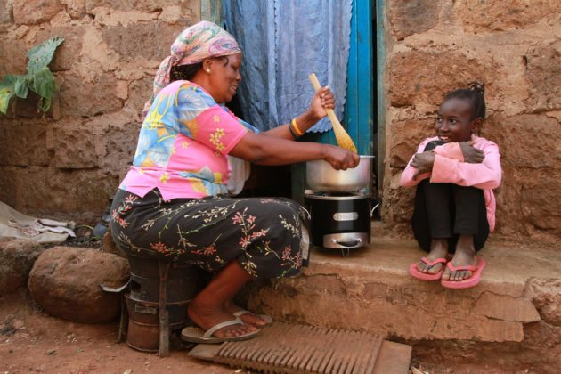 BURN cookstoves reduce the amount of fuel needed for cooking and emissions of deadly, planet-warming pollutants. (BURN Design Lab)