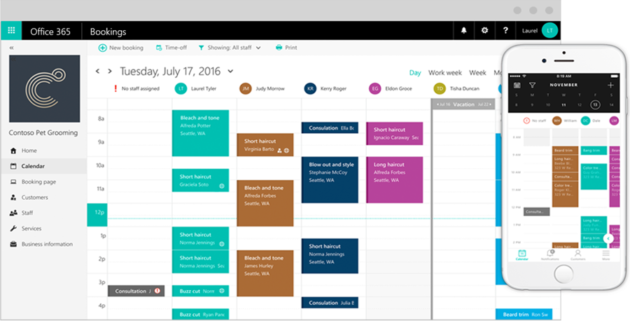 Microsoft Launches Appointment Scheduling Software