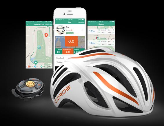 Coros Helmet, App