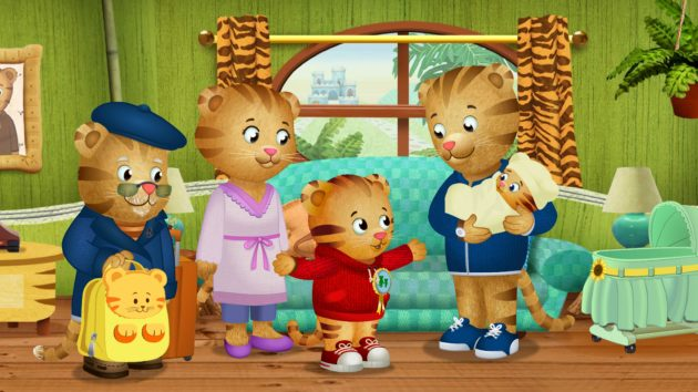Daniel Tiger's Neighborhood, a spinoff of PBS mainstay Mister Rogers' Neighborhood, is one of the shows in the new Amazon deal. Credit: Daniel Tiger's Neighborhood