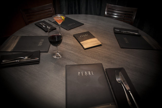 LensVector's lighting can control the shape and intensity of light. At a restaurant it could be used to toggle between an intimate low-light setting and a brighter setting when customers are looking at menus. Credit: Lori Call.