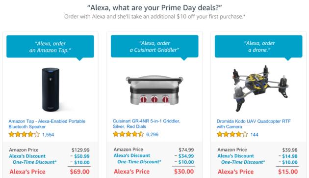 Alexa Prime Day Deals