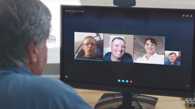 Skype Meetings is a new tool that lets small businesses have free virtual meetings. (Credit: Microsoft)