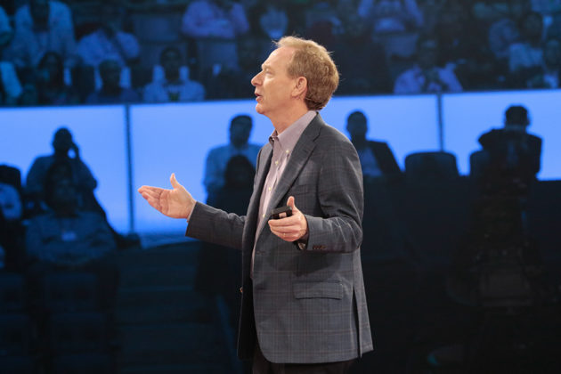Brad Smith, Microsoft president and chief legal officer. (Microsoft Photo)