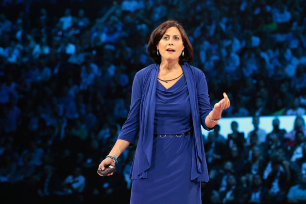 Gavriella Schuster, vice president of Microsoft's Worldwide Partner Group.