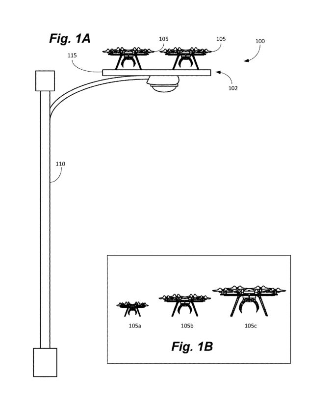 amazon drone docking station