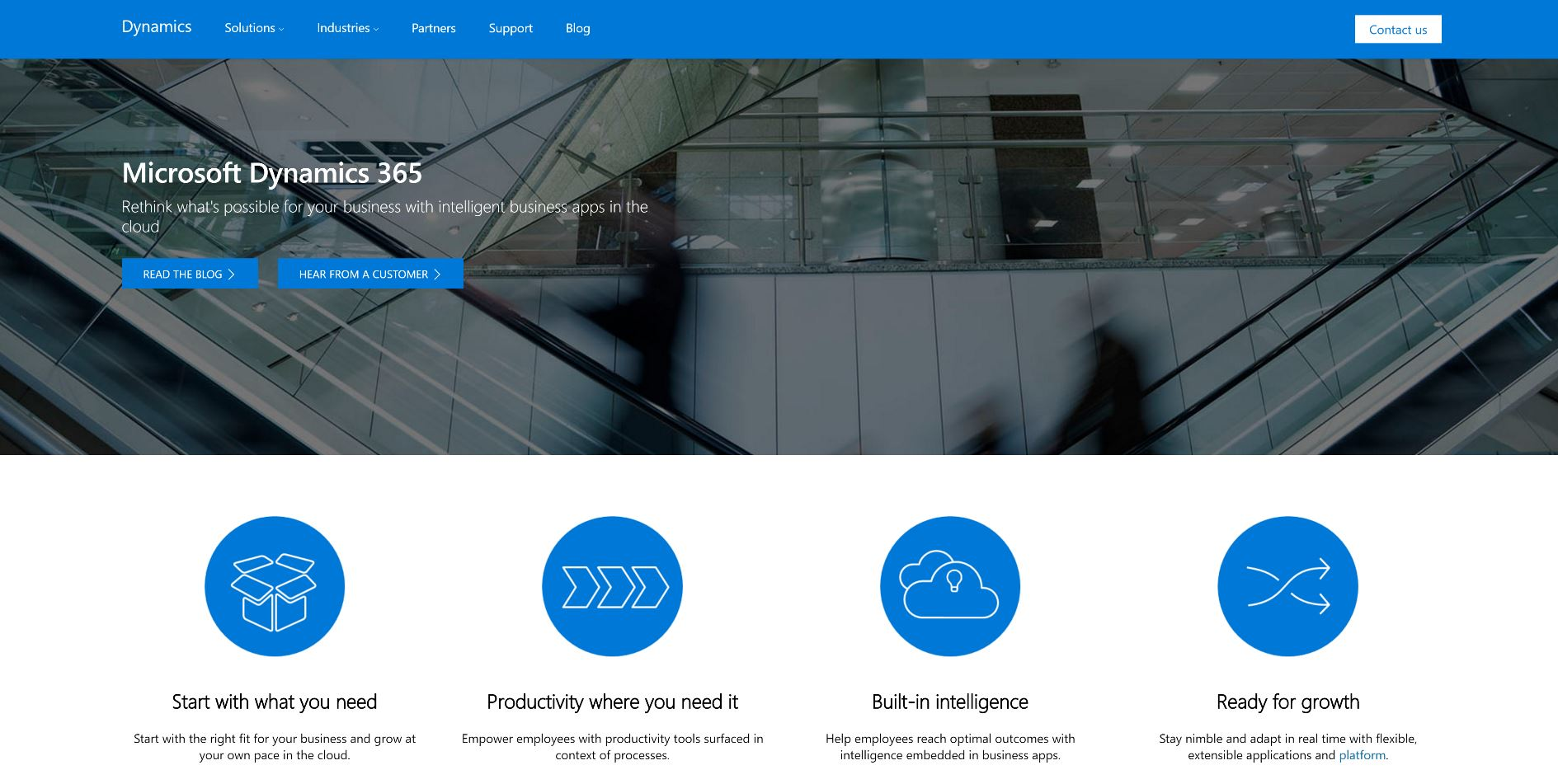 Microsoft challenges partner Salesforce with its Dynamics 365, combining CRM, ERP and Office