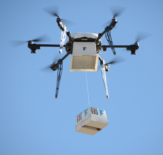 Amazon Has Grabbed Headlines With Its Plans To Deliver Packages Via Drone But 7 Eleven Says It Got There First This Week The Fully Autonomous