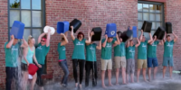 Glowforge Ice Bucket Challenge