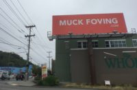 Muck Foving billboard