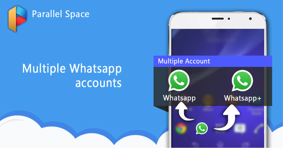 parallel space multi accounts whatsapp
