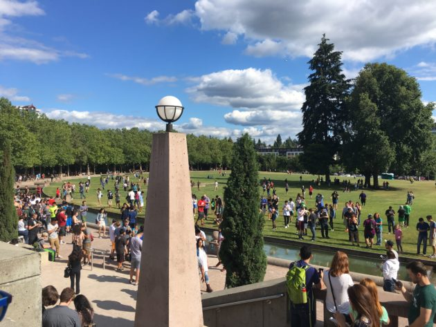 Pokemon Go players took over Bellevue City park this weekend