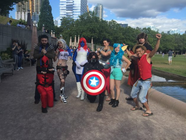Pokemon Go fans show up in cosplay in Bellevue