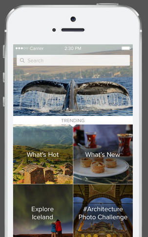 The Trover app