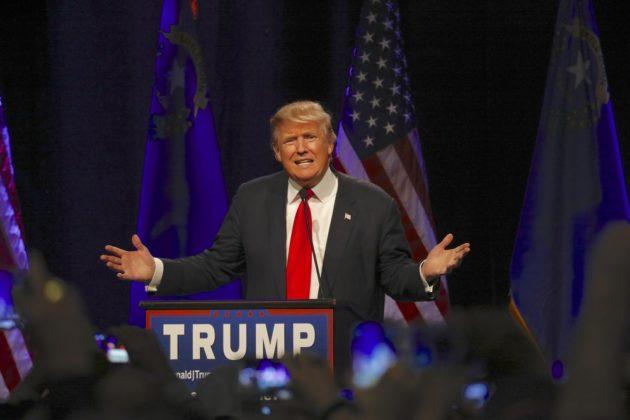 Donald Trump. (Via Shutterstock)