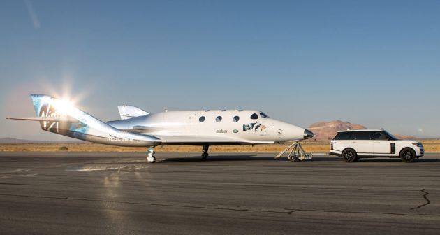 SpaceShipTwo taxi test