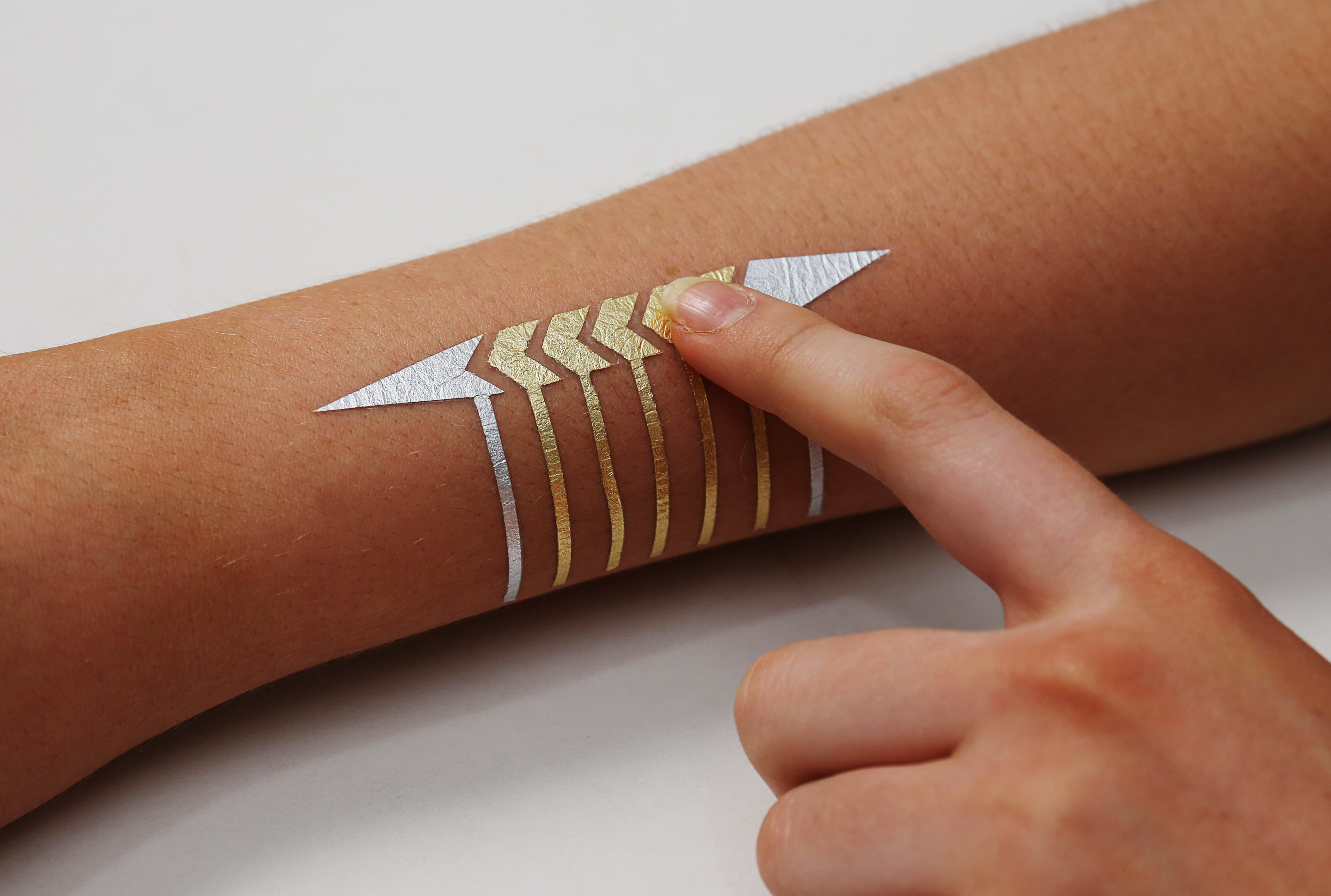Microsoft research and mit unveil smart tattoos geekwire for Fake tattoo creator
