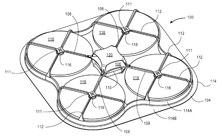 Amazon Patent Filing Provides A Peek At Shrouded Delivery Drone Designs