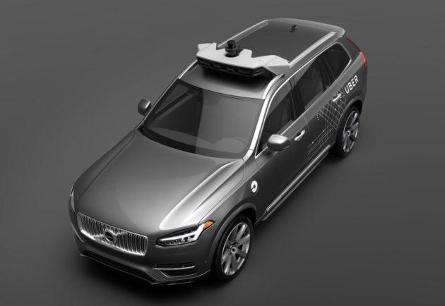 Autonomous Volvo for Uber