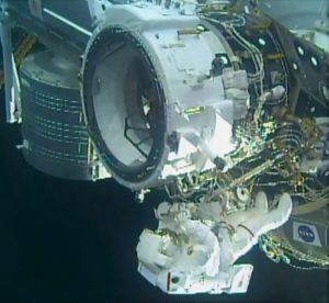 Docking adapter installed on International Space Station