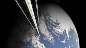 Space elevator concept