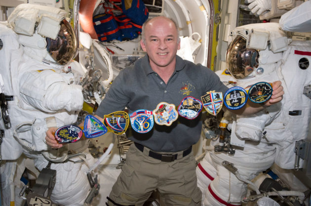 Jeff Williams on space station