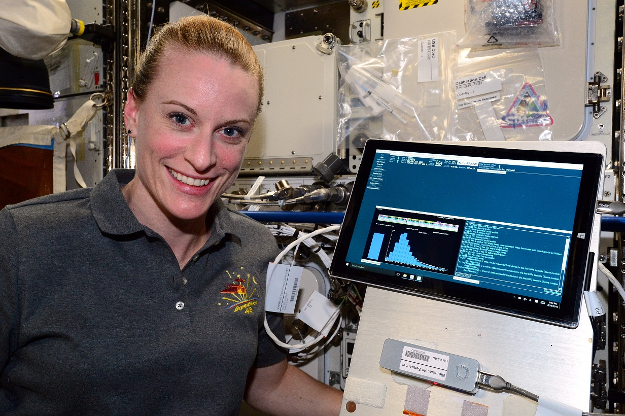 DNA sequenced in space for the first time