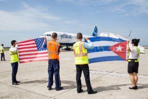 JetBlue's Cuba arrival