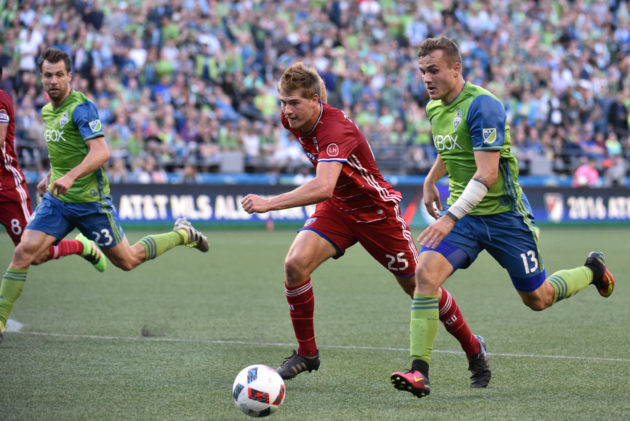 Sounders FC vs FC Dallas - July 13, 2016 - Photo by Kevin Lisota