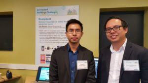 Enerphant CEO, Warodom Khampanchai (left) and CTO Tony Chotibhongs (right). Photo by Clare McGrane.