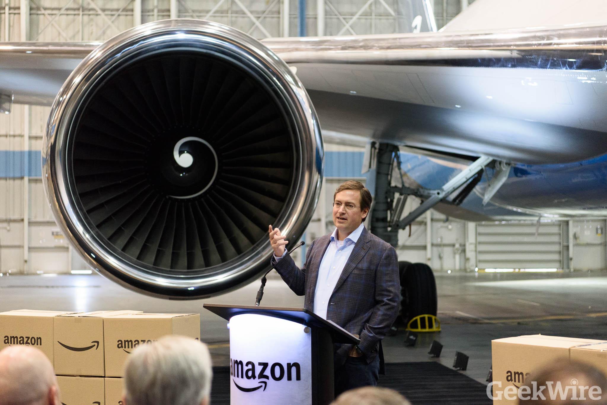 Amazon Prime airplane debuts after secret night flight