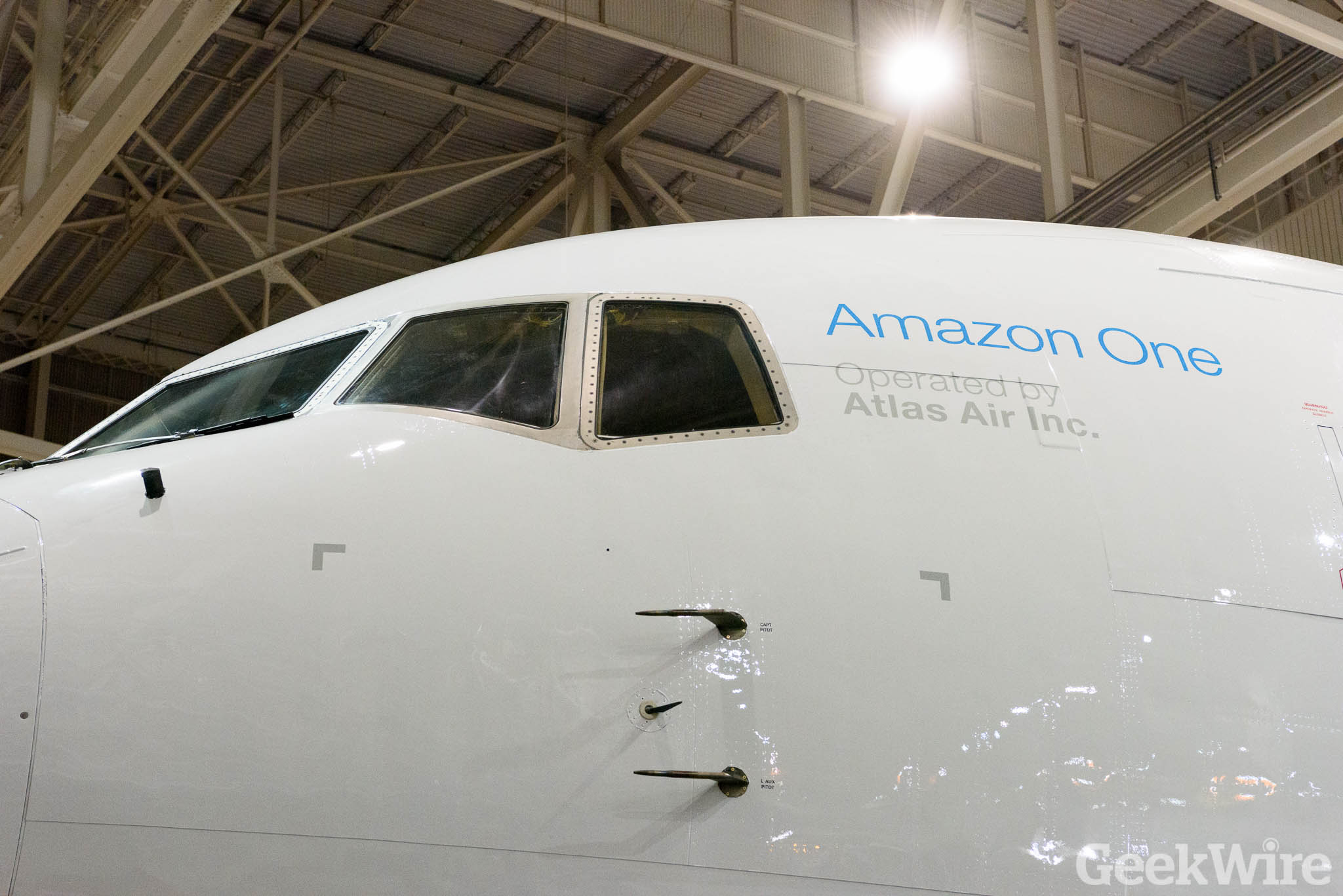Amazon Prime airplane debuts after secret night flight