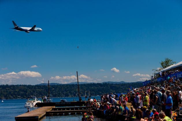 Seafair spectators