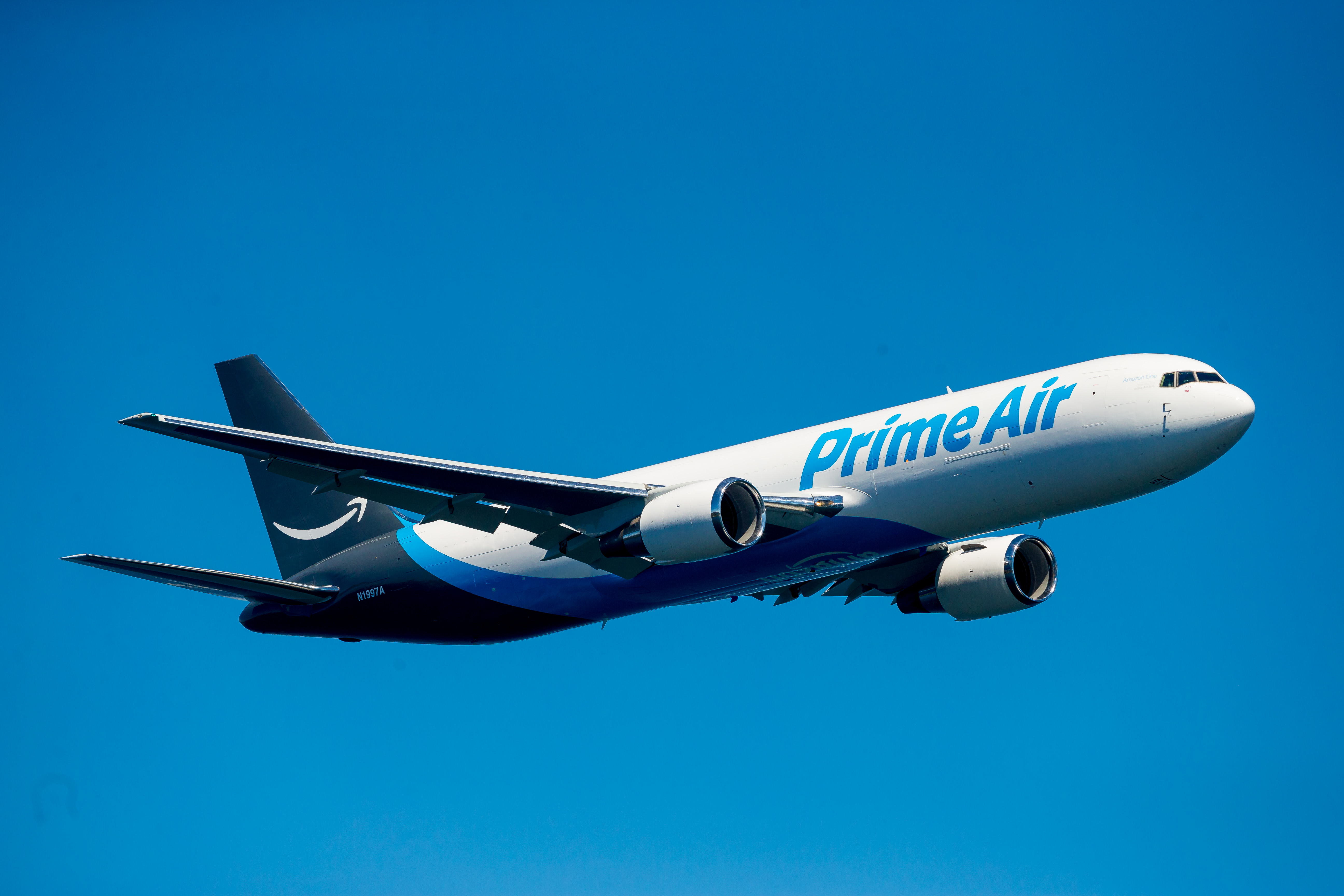 Amazon s first prime air jet takes seafair spotlight for Airplane plans
