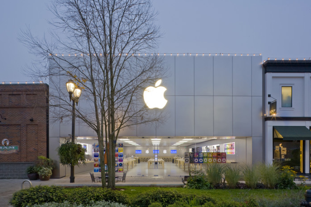 Seattle's Apple University Village. Photo: Apple.