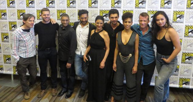 Cast and executive producers of The Expanse at San Diego Comic Con photo by: Daniel Rasmus