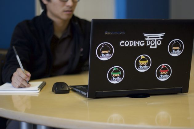 Photo from Coding Dojo.