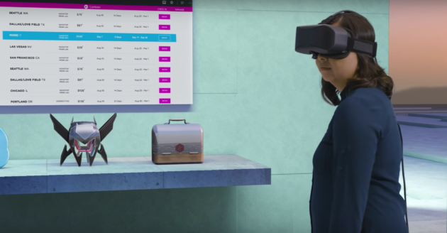 Windows Holographic shell lets people use 2D and 3D applications together.