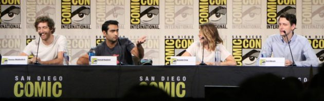 The stars of Silicon Valley on a panel at San Diego Comic-Con. Photo by Daniel Rasmus